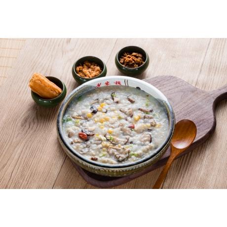香菇雞肉粥