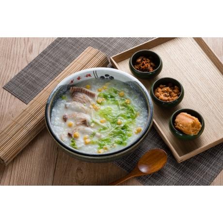 潮鯛魚片粥